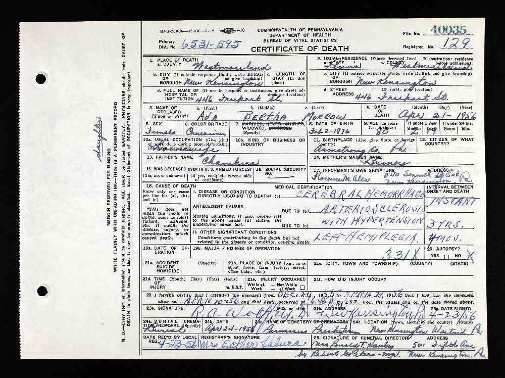 William Gregg Descendants - Person Page